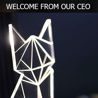 WELCOME FROM OUR CEO