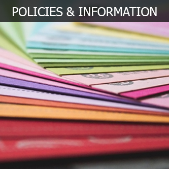 POLICIES AND INFORMATION